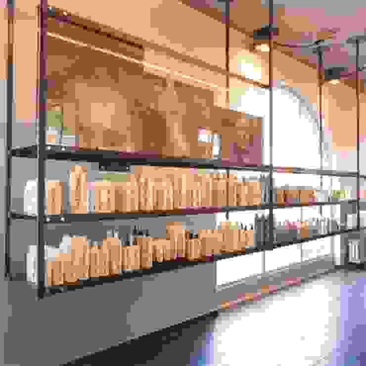 Wijnhoven & Wijnhoven Coiffeurs Moderne kantoor- & winkelruimten van bv Mathieu Bruls architect Modern