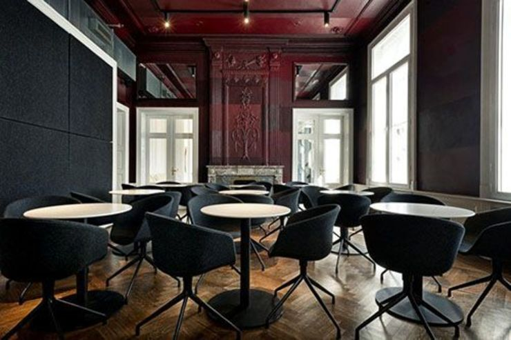 Verbouwing Theatercafé Vrijthof Klassieke bars & clubs van bv Mathieu Bruls architect Klassiek