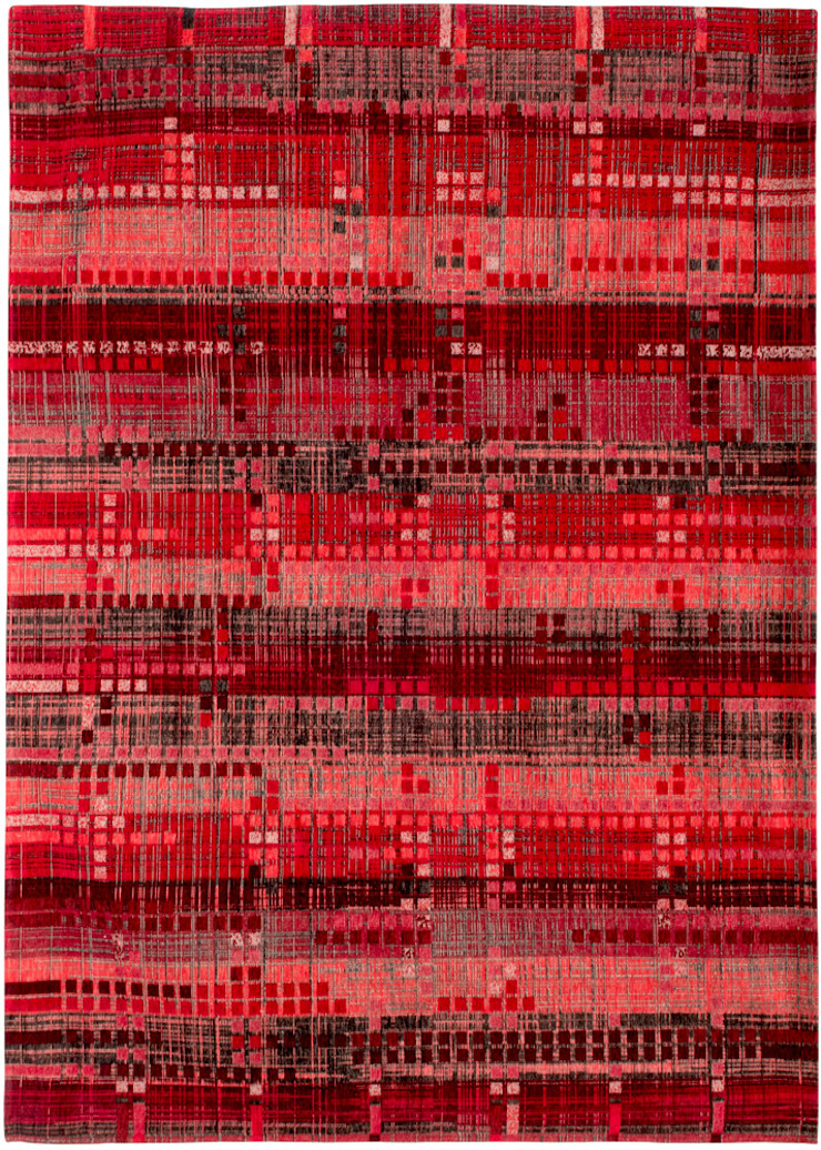 8410 Empire Red: modern  door louis de poortere, Modern Katoen Rood