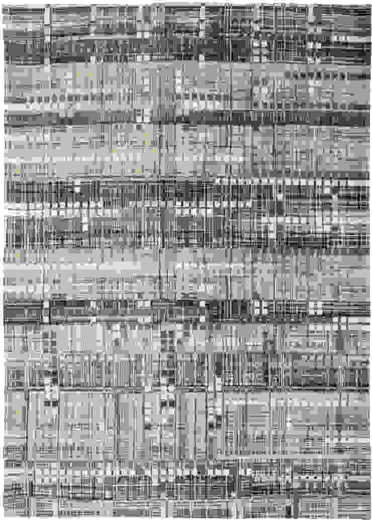 8413 Hudson Grey: modern  door louis de poortere, Modern Katoen Rood