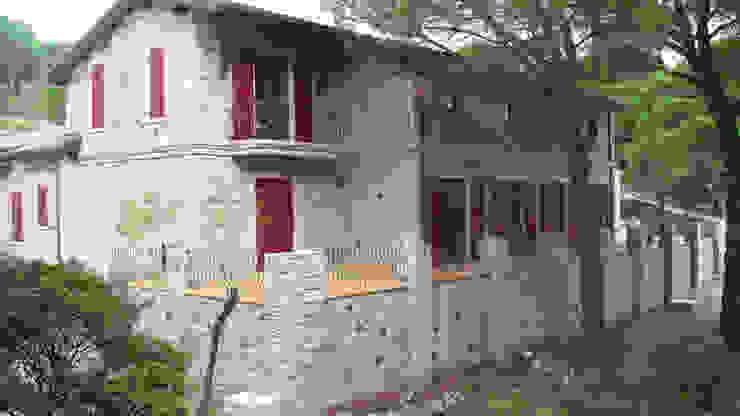 Bağyüzü Taş Ev Kırsal Balkon, Veranda & Teras Plano Mimarlık ve Teknoloji Kırsal/Country Taş