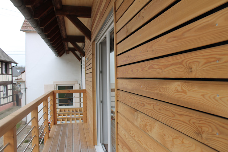 Modern houses by Agence ADI-HOME Modern Wood Wood effect