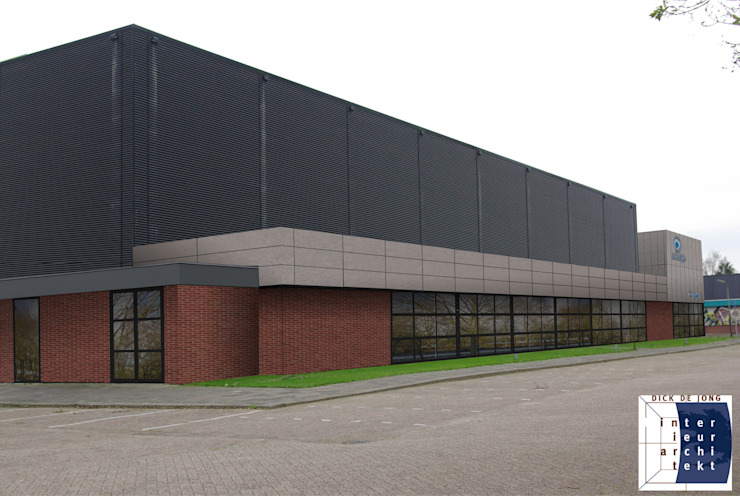 Ontwerp buitenzijde Moderne bars & clubs van Dick de Jong Interieurarchitekt Modern