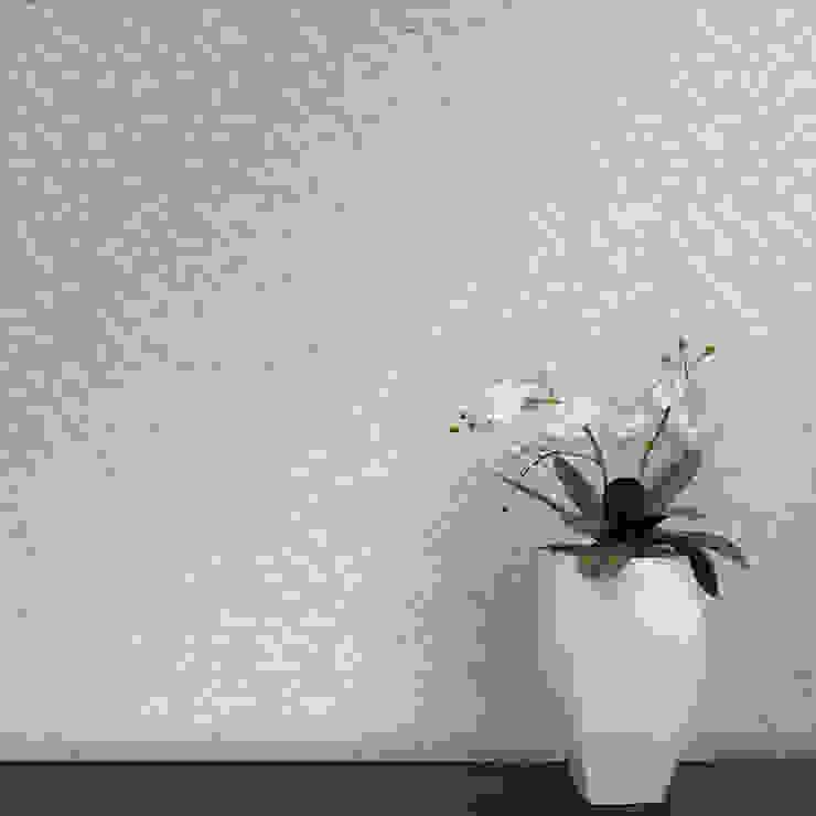 Cubo Coordenado Bege por OH Wallpaper Moderno Papel