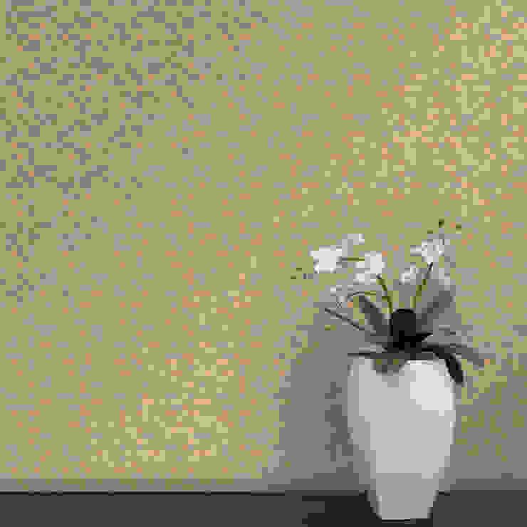 Cubo Coordenado Pálido por OH Wallpaper Moderno Papel