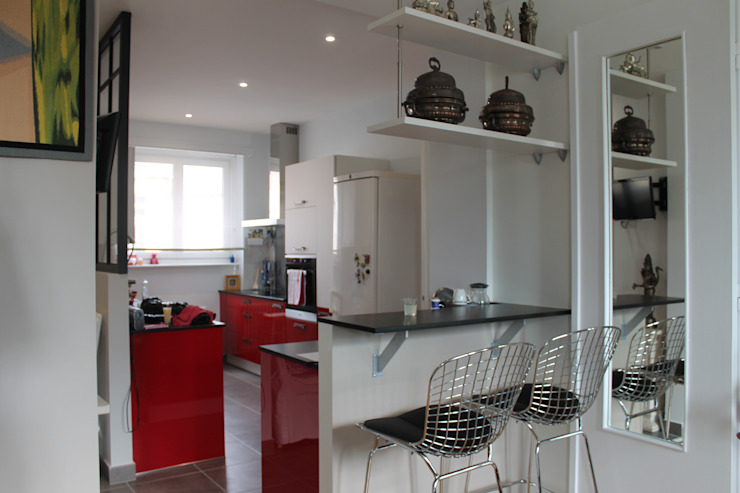 Industrial style kitchen by Agence ADI-HOME Industrial