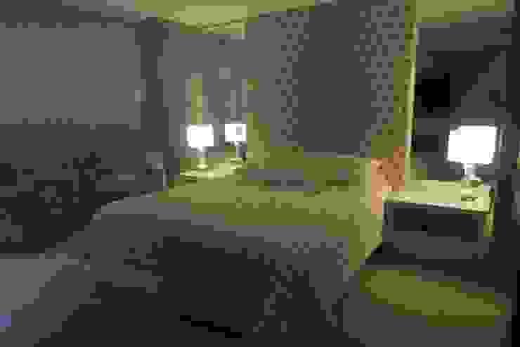 Súite Casal Quartos modernos por MR18 Arquitetura | Interiores Moderno
