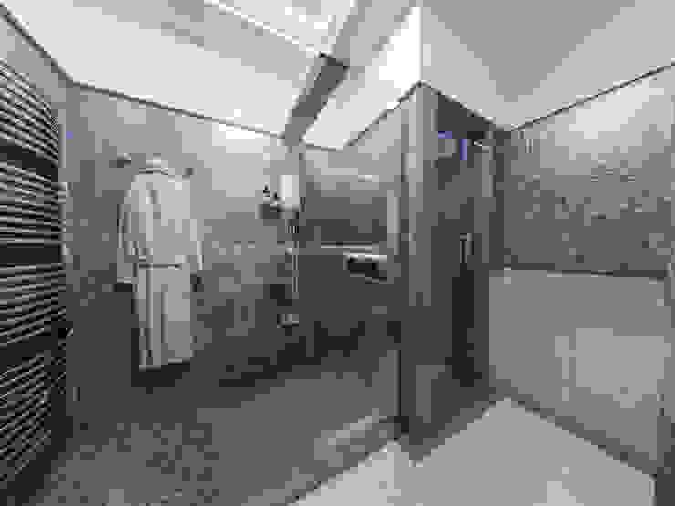 Progetti di Ristrutturazione di Bagni Privati Bagno moderno di studiosagitair Moderno