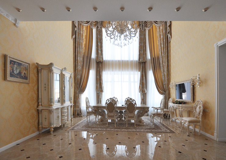 Classic style dining room by Tutto design Classic