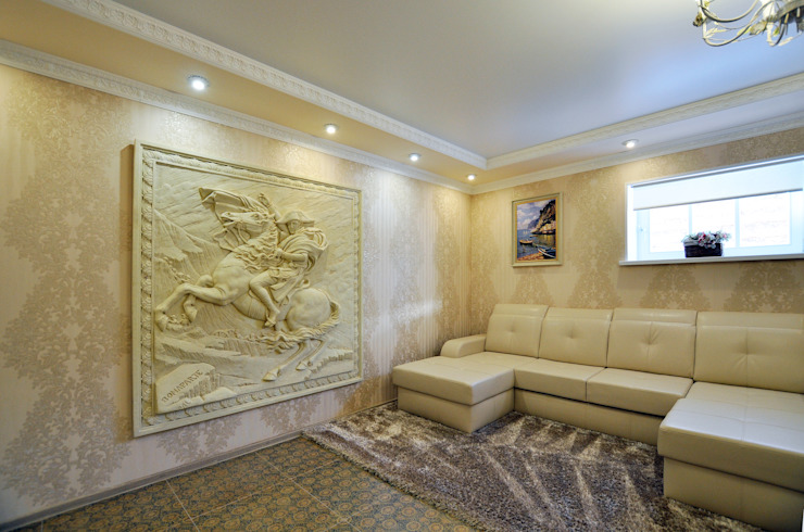 Classic style media rooms by Tutto design Classic