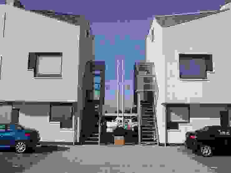 appartementen Jacobswoude Moderne huizen van hans moor architects Modern