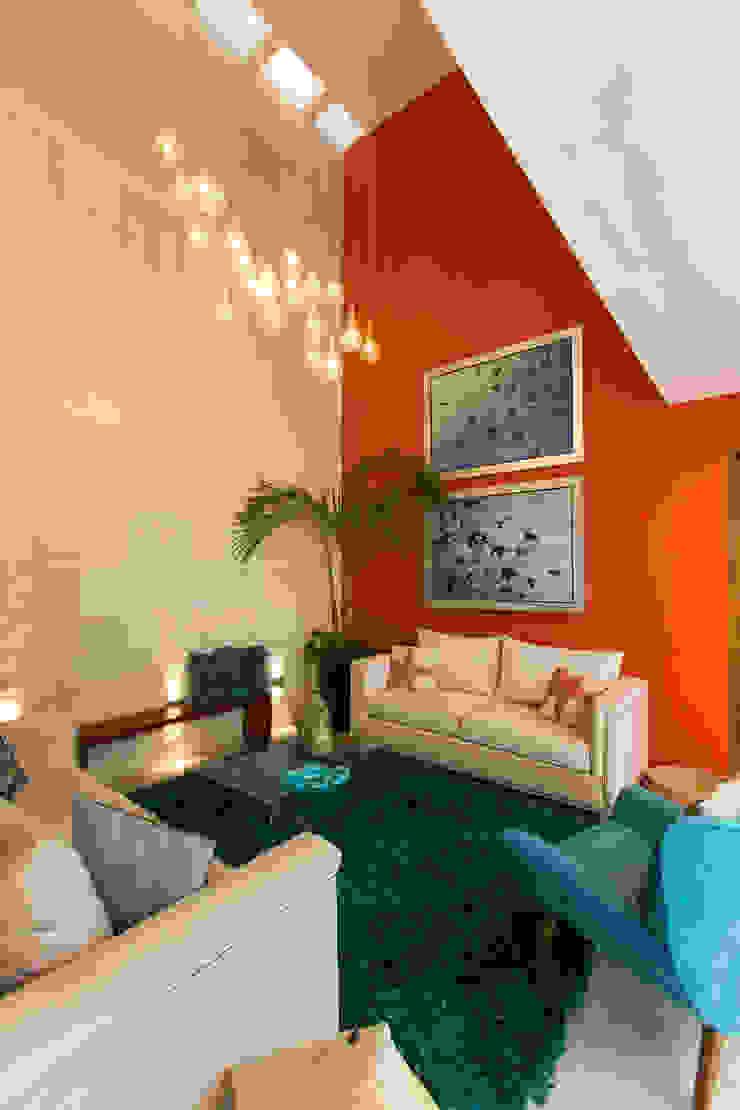Grupo Arsciniest Modern Living Room Stone Orange