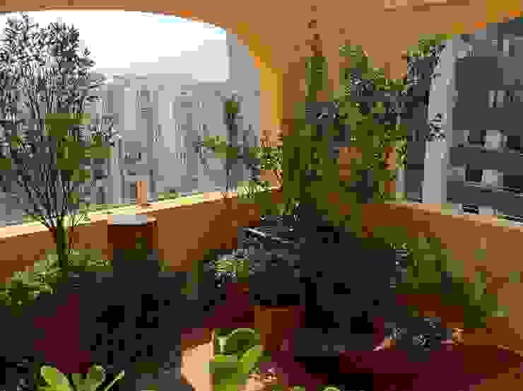 Jardines de estilo rústico de Renata Villar Paisagismo e Arranjos Florais Rústico