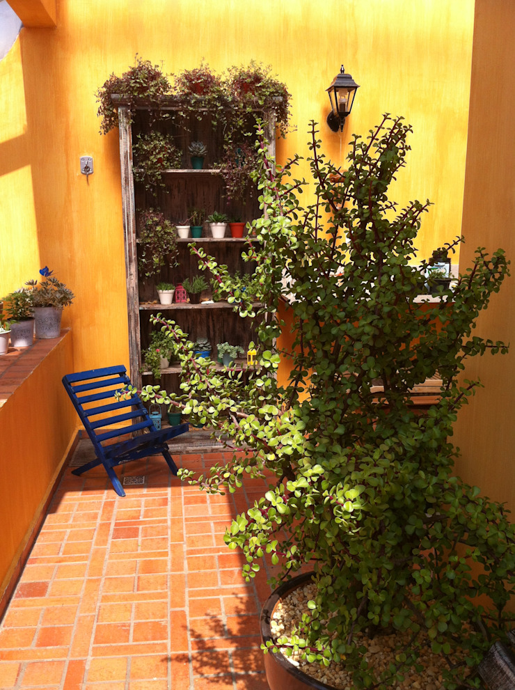 Renata Villar Paisagismo e Arranjos Florais Rustic style garden