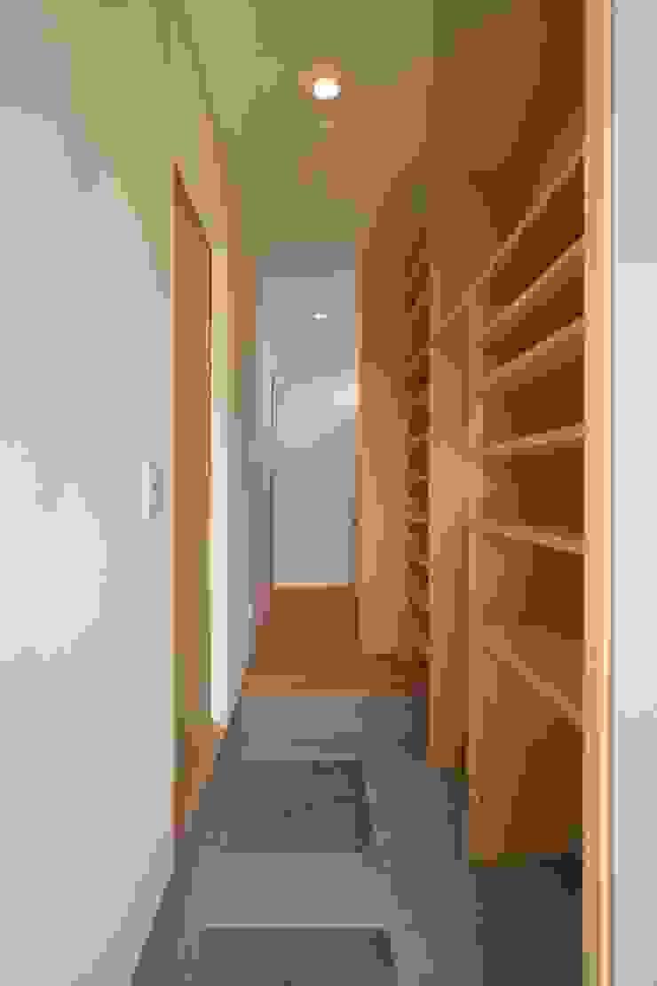 Koridor & Tangga Klasik Oleh 加門建築設計室 Klasik