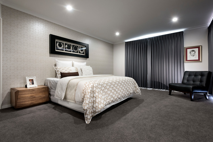 Guest Bedroom von Moda Interiors