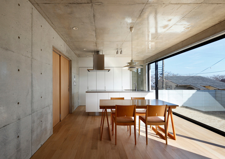 Modern dining room by homify Modern Reinforced concrete