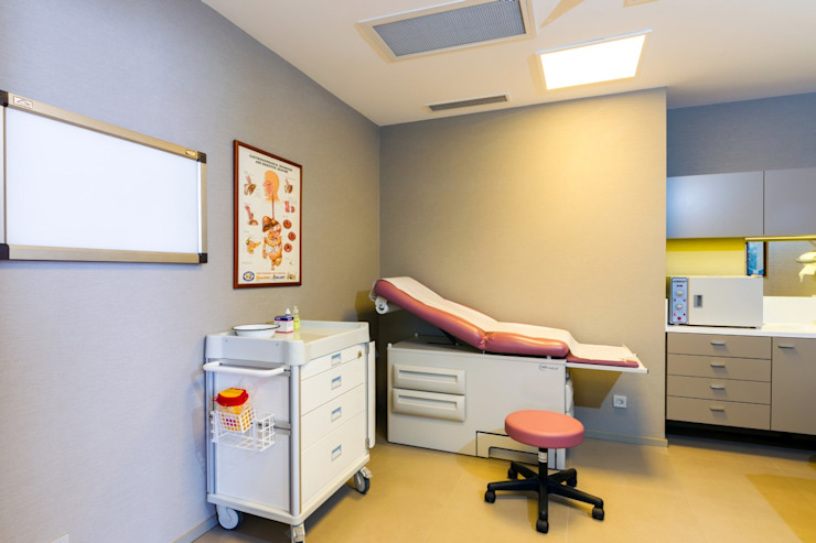 Medizon/ Keyplaza Modern Klinikler Plano Mimarlık ve Teknoloji Modern