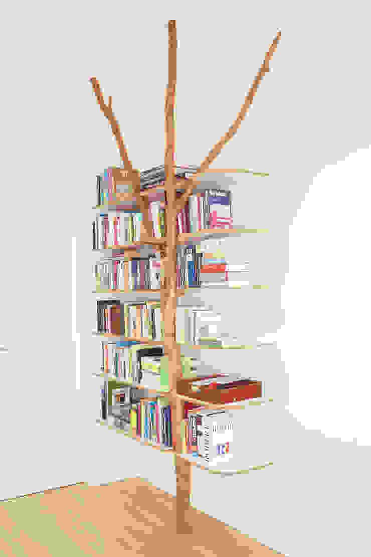 Bücherregal Badabaum WohnzimmerAufbewahrung