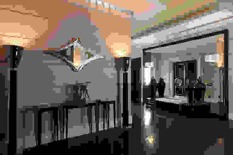 Modern corridor, hallway & stairs by Архитектурное бюро Бахарев и Партнеры Modern