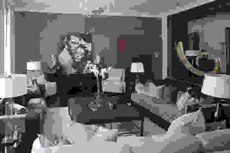 Modern living room by Архитектурное бюро Бахарев и Партнеры Modern