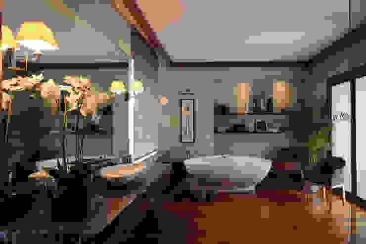 Modern style bathrooms by Архитектурное бюро Бахарев и Партнеры Modern