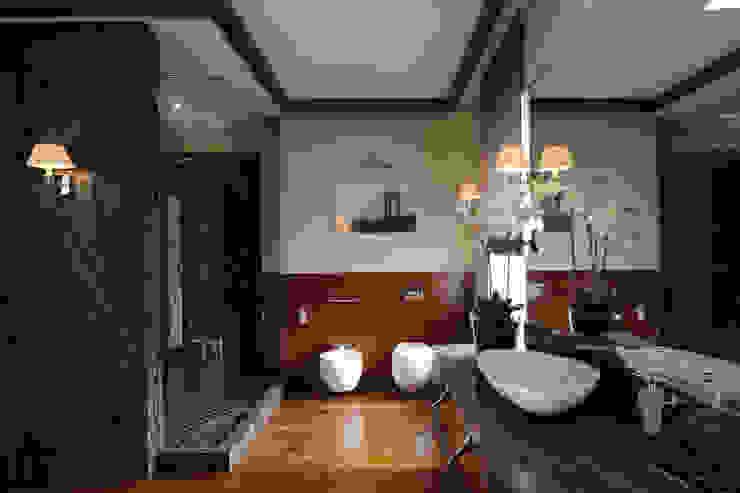 Modern bathroom by Архитектурное бюро Бахарев и Партнеры Modern