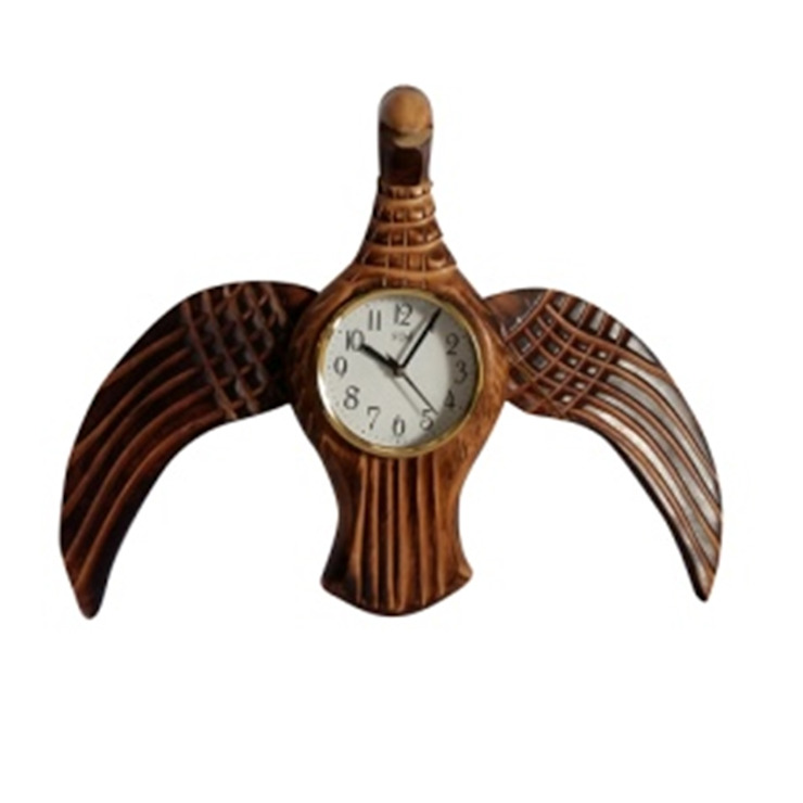 Eagle Clock: asian  by Alyth Creations,Asian