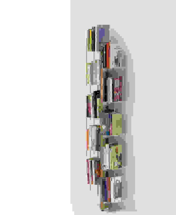 Zia Veronica   Wall bookshelf   h 150 cm Le zie di Milano HouseholdHomewares Solid Wood Wood effect