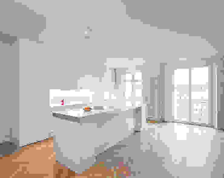 Gisbert Pöppler Architektur Interieur Dapur Minimalis White