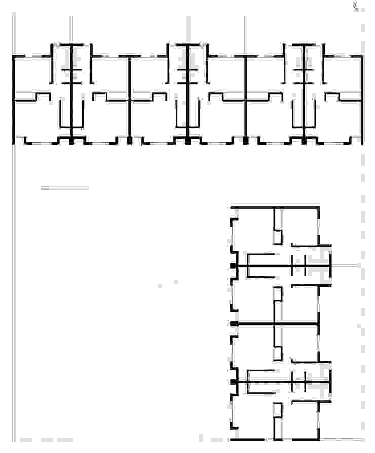 Planta Alta Casas modernas: Ideas, imágenes y decoración de Poggi Schmit Arquitectura Moderno