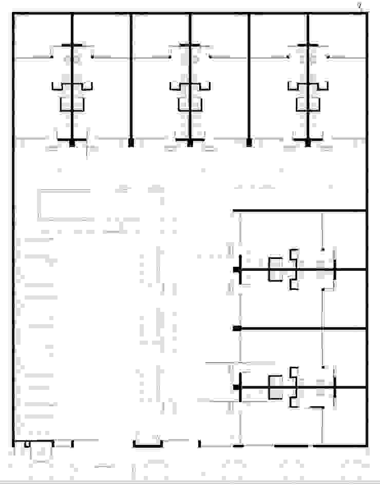 Planta Baja Casas modernas: Ideas, imágenes y decoración de Poggi Schmit Arquitectura Moderno