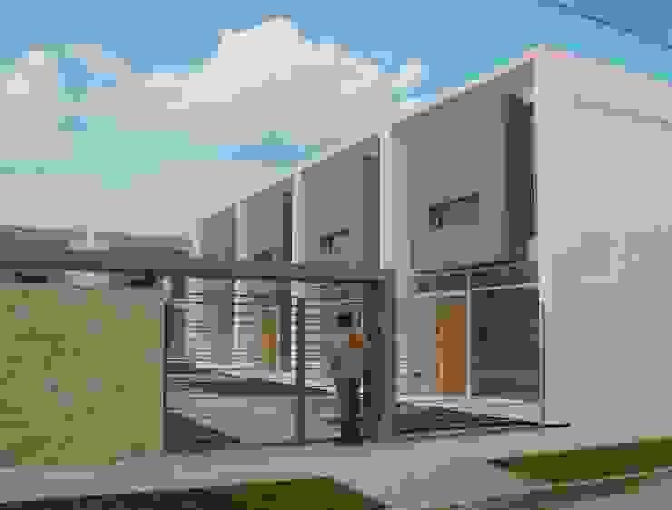 Vista desde Frente Casas modernas: Ideas, imágenes y decoración de Poggi Schmit Arquitectura Moderno