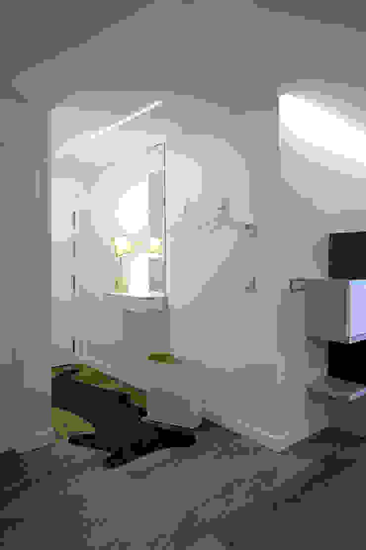 Taralux Iluminación, S.L. 隨意取材風玄關、階梯與走廊