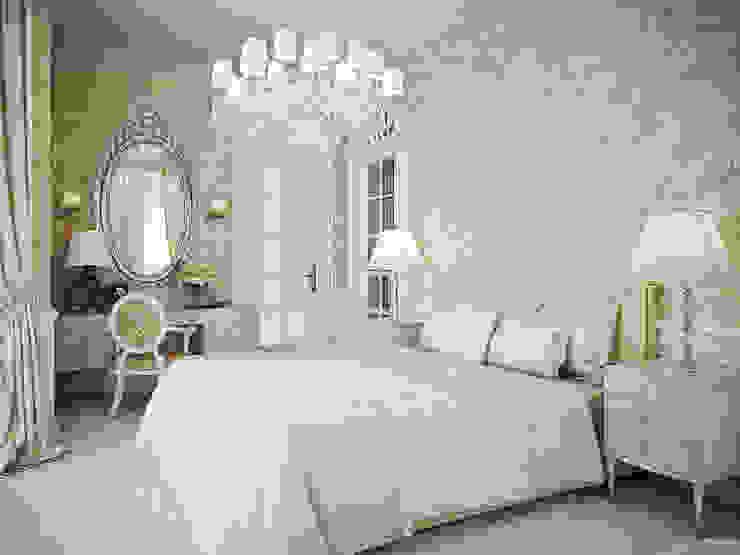 Bedroom by Архитектурное бюро Бахарев и Партнеры,