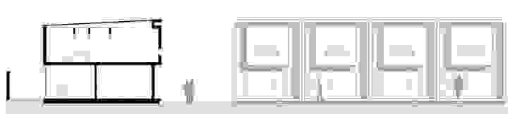 Corte Vista Casas modernas: Ideas, imágenes y decoración de Poggi Schmit Arquitectura Moderno
