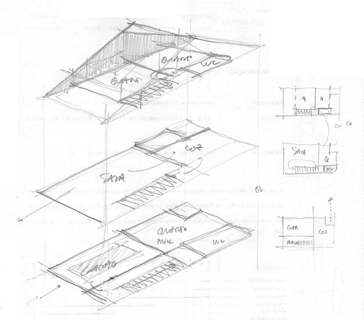 esquisso por Ricardo Caetano de Freitas | arquitecto Minimalista