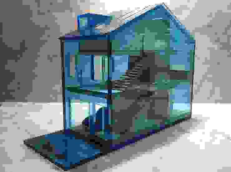 maquete por Ricardo Caetano de Freitas | arquitecto Minimalista