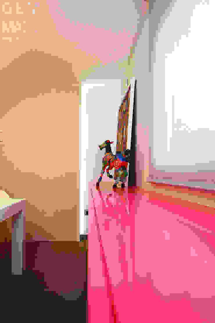 Gemmalo arquitectura interior Modern dining room MDF Pink
