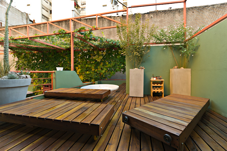 Jardines de estilo minimalista de Pop Arq Minimalista