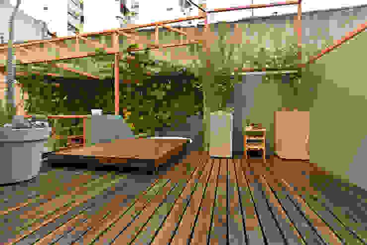 Ph con Parra Jardines minimalistas de Pop Arq Minimalista