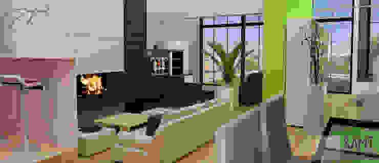 Comedor Area de estar Comedores minimalistas de SANT1AGO arquitectura y diseño Minimalista