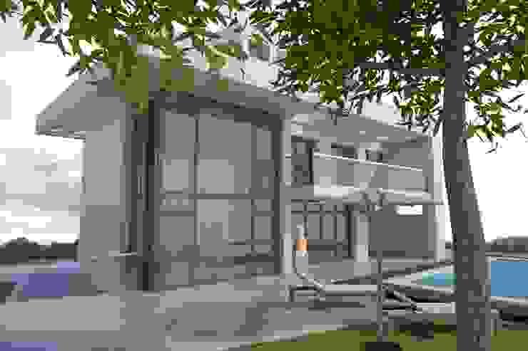 โดย DYOV STUDIO Arquitectura. Concepto Passivhaus Mediterráneo. 653773806 เมดิเตอร์เรเนียน หินทราย