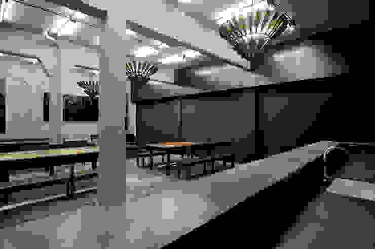 BUBBLE BAR Comedores modernos de Ramiro Zubeldia Arquitecto Moderno Concreto