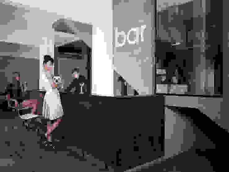 BARRA BAR Comedores modernos de Ramiro Zubeldia Arquitecto Moderno Contrachapado