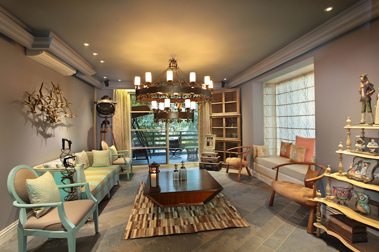 Living Space Modern living room by groupDCA Modern