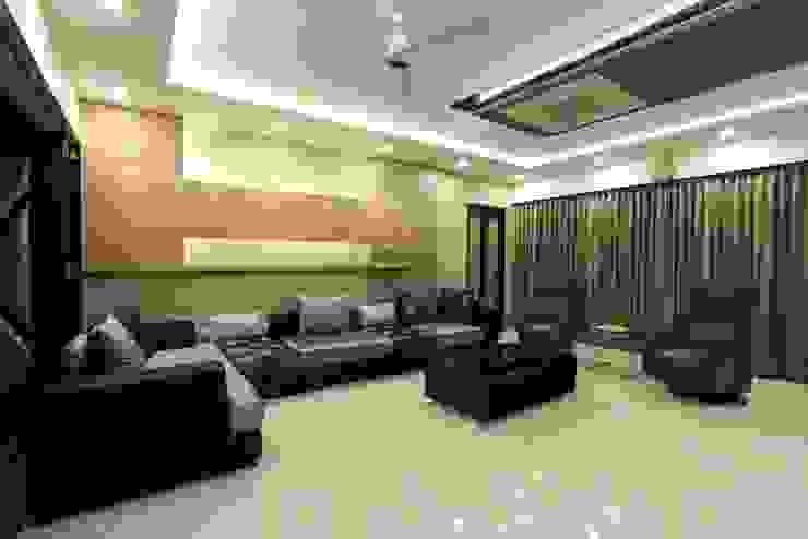 Family room Modern living room by Mind Studio Modern