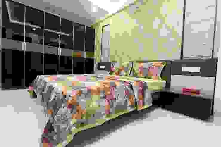 Guest room Modern style bedroom by Mind Studio Modern