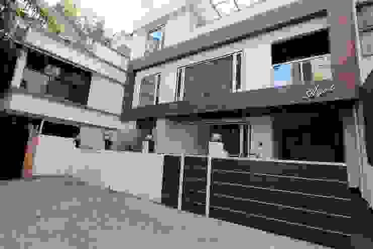 exterior Modern houses by Mind Studio Modern