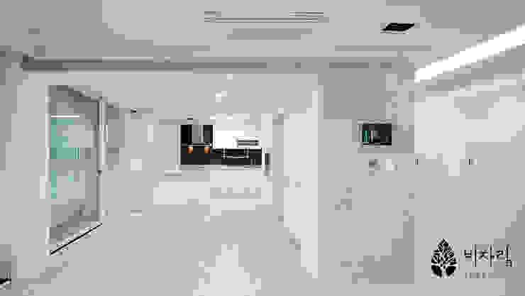 비자림인테리어 Modern style kitchen White